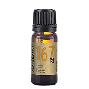 Naissance Vetiver Essential Oil 10ml - 100% Pure, Natural, Cruelty Free and Undiluted