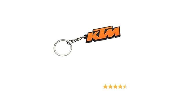 Motorcycle Keychain Key Tags Racing Keyring For KTM Duke Orange Cool Gift Biker