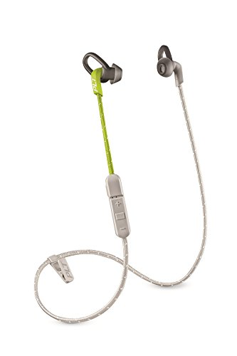 Plantronics Intrauriculares inalámbricos Deportivos BackBeat FIT 305 Grey/Lime Green