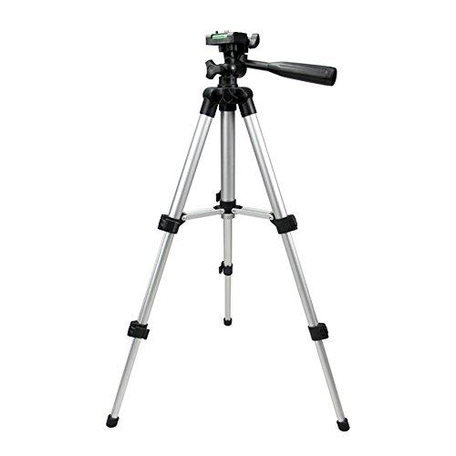 zreal universel Trépied Portatif Appareil Photo Numérique Caméscope Support trépied léger en aluminium pour Canon Nikon Sony