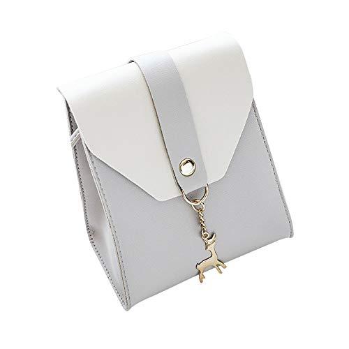 Damentasche Messenger Taschen Clutch Mädchen Reh Umhängetasche Citytasche Shopper Schultertasche Handtasche Satchel Tote Mode Ledertasche Henkeltasche Abendtaschen