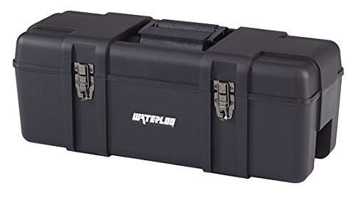 Waterloo Portable Series Tool Box made with Lightweight Industrial-Strength Plastic, 26 by Waterloo -