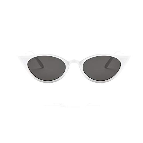 WZYMNTYJ Cat Eye Sonnenbrillen für Frauen Rot Kleine Vintage Cateye Damen Sonnenbrille Retro Ladies Shades