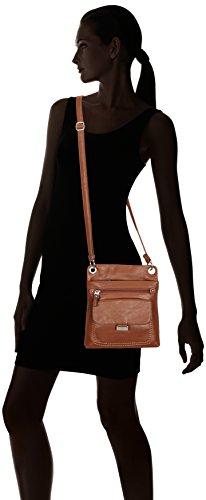 Gabor Ina, Borsa a tracolla donna, , 22x27x3 cm (L x A x P) Marrone (Cognac)