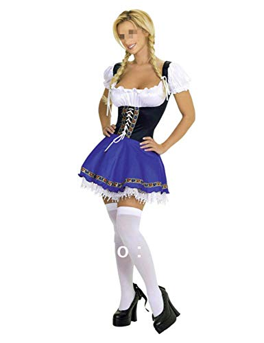 Wench Kostüm Zubehör - Sexy Frauen Oktoberfest Kostüm Dirndl Maid