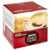 Nescafe Dolce Gusto Caffe Americano, 2Packungen, 2x 16Kaffeepads