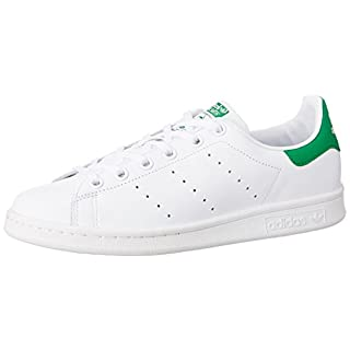 Adidas Stan Smith,  Unisex-Kinder Sneakers, Weiß (Ftwr White/Ftwr White/Green), 36 2/3 EU