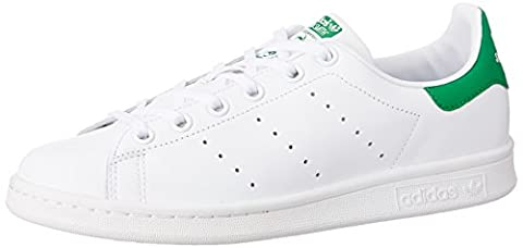 Adidas Stan Smith, Unisex-Kinder Sneakers, Weiß (Ftwr