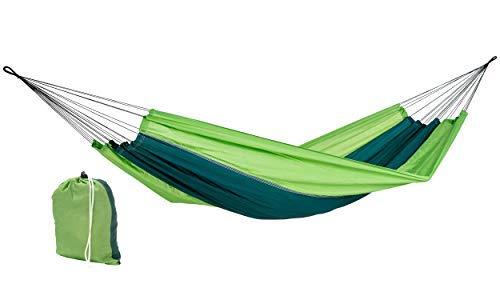 AMAZONAS Ultra-Light Hängematte Silk Traveller Forest 350g 220cm x 140cm bis 150kg in Grün (5-zimmer-zelt)