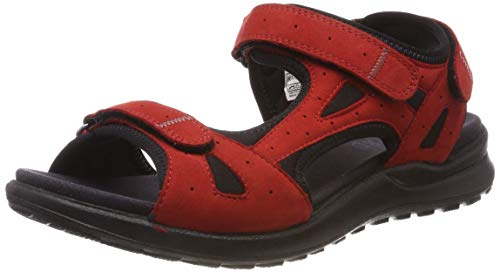 Legero Damen SIRIS Riemchensandalen, Rot (Chili (Red) 51), 38 EU