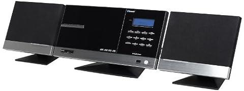 AudioSonic HF-1265 Stereo-Anlage mit eingebautem CD/MP3-Player (Bluetooth, FM-Tuner, 2x 10 Watt)
