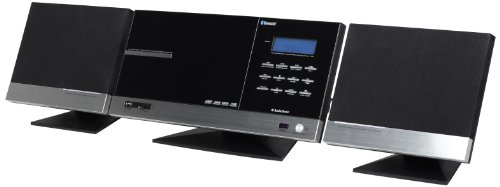 AudioSonic HF-1265 Stereo-Anlage mit eingebautem CD/MP3-Player (Bluetooth, FM-Tuner, 2x 10 Watt)