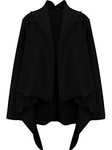coffeepop-cappotto-impermeabile-donna-black-xx-large