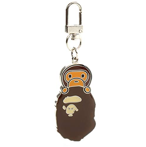 Goahead bape key ring|a bathing BAPE key chain ring