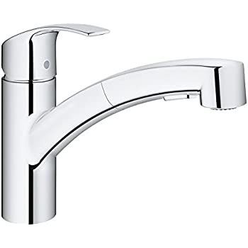 Grohe 32663001 Concetto Kitchen Tap Pull Out Mousseur
