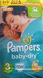 PAMPERS Baby Dry tamaño 3midi 4-9kg Giga Pack 136Pañales
