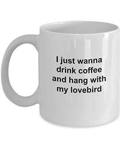 Lustige Loverbird Tasse mit Aufschrift