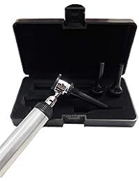 ZetaLife prima de grado otoscopio veterinario 3.2v luz brillante con la caja de negro