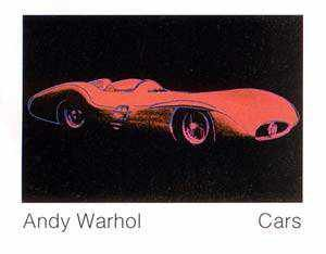"""Kunstdruck / Poster: Andy Warhol """"Cars, Formula - I - Car W 196 R, Bj. 1954"""" - hochwertiger Druck, Bild, Kunstposter, 90x70 cm"""