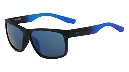 Nike Herren Cruiser R Ev0835 001 59 Sonnenbrille, Blau (Mt Blk Grd W/Bl Sk)
