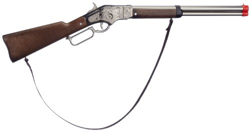 Gonher - Rifle Cowboy con 8 Disparos, Color Metal (99/0)