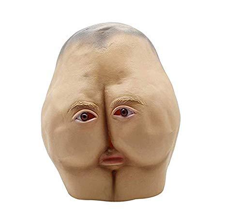 (FENGT Halloween Horror Maske Party Dress up Maske Horror Werwolf Maske Wolf Klaue Zombie Maske Geistermaske Lustige Sex Orgel Maske)