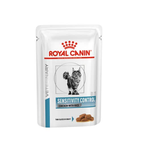 Royal Canin Cat Sensitivity Control Chicken und Rice, 1er Pack (12 x 100 gms)