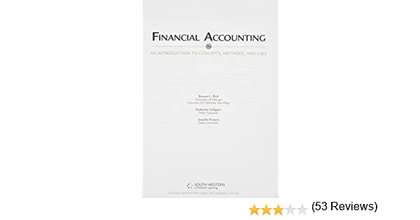 Financial Accounting: An Introduction to