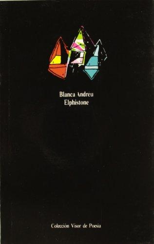 Elphistone (Visor de Poesía) por Blanca Andreu