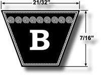 CORREA EN V B52 (MEDWAY)