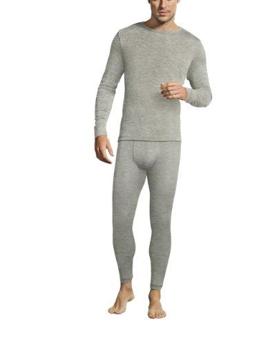 Jockey® Herren, Merino Thermals T-Shirt, langarm, 19500717, grau, Größe 2XL -