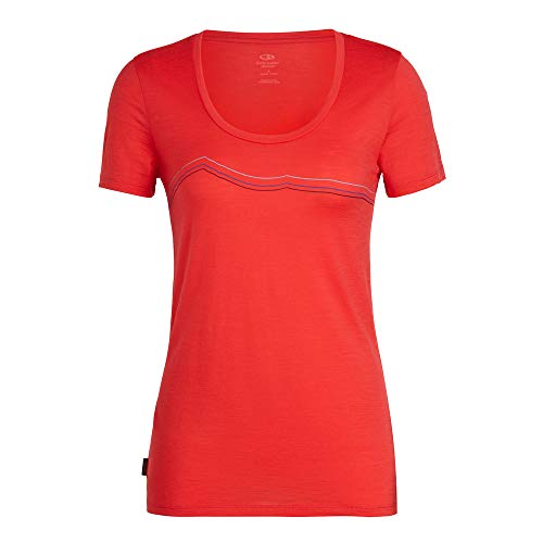 31JKTIc4oyL. SS500  - Icebreaker Women's Tech Lite Ss Scoop Rangitoto Triple T-Shirt