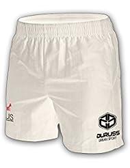 Duruss SH1003 - Pantalón corto para hombre, color blanco, talla L