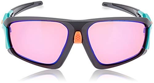OAKLEY 0OO9402 Gafas de sol para Unisex, Gris Oscuro/Verde, 0