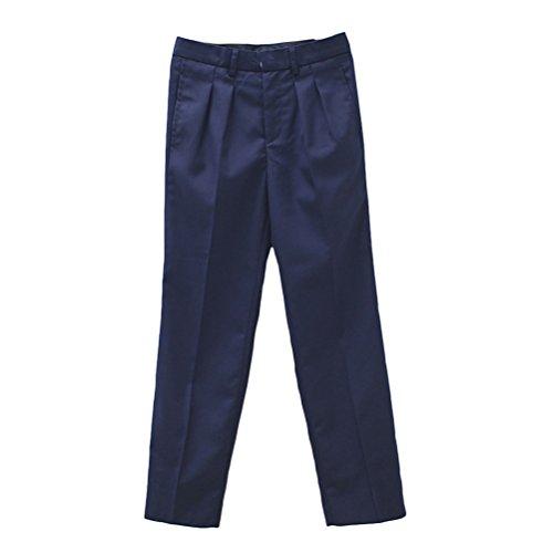 Zhuhaitf Gute Qualität Fashion Kids Boys Formal Wedding Classic Gentleman Pants Trousers 2 Colors