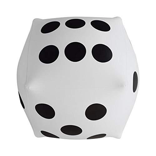 Dadi di gioco standard dadi numerici per dadi gonfiabili sovradimensionati da 12 pollici, per grandi giochi al coperto e all'aperto, ludo e pool party