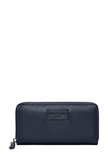 Liebeskind Berlin Damen Essential Sally Wallet Large Geldbörse, Blau (Navy Blue), 2x9x19 cm