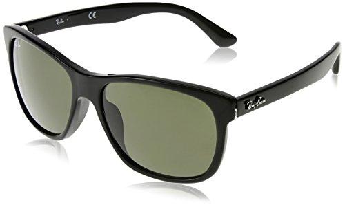 Ray-Ban Sunglasses - RB4181F / Frame: Black Lens: Green