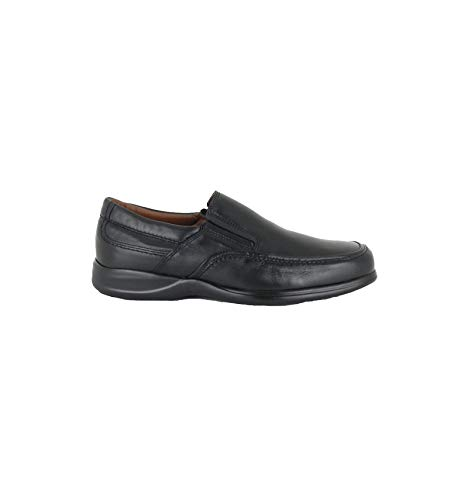 Baerchi - Zapatos sin Cordones Profesional - Negro