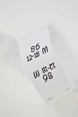 Größenetiketten 86 12-18 Monate, für Kleidung, Babys und Kinder, zum Einnähen, Einzelgröße, 25 Stück, Textiletiketten, Einnähetiketten, nähen 0,20 €/St.