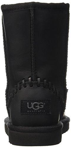 UGG Australia Classic Short Deco, Bottes Classiques Mixte Enfant Noir (Nero)