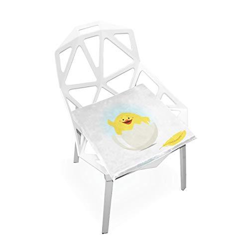 La chaise mousse mémoire carrée molle antidérapante molle faite sur commande molle d'animal poulet coussin coussins s'assied pour la cuisine à la maison Salle à manger fauteuil roulant 16 X 16 pouces
