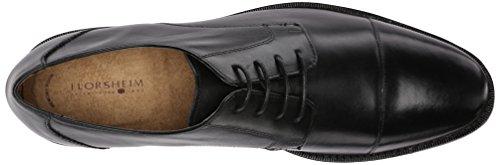 Florsheim Montinaro Cap Toe Hommes Large Cuir Oxford Black