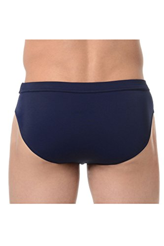HOM Herren Badehose Marina Swim Mini Briefs Navy