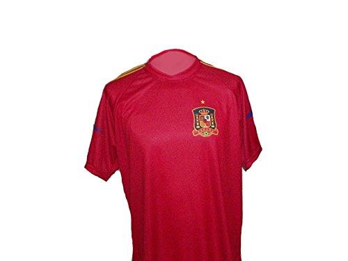 Spielfussballshop Spanien Trikot in Kinder Größe 98 (Jugend-fußball-torwart Trikot-mädchen)