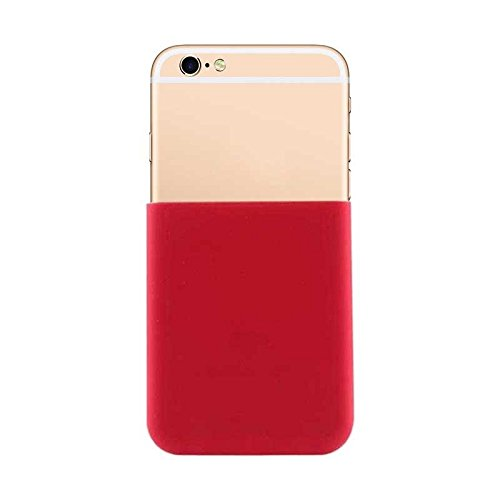 Phone case & Hülle Für iPhone 6 Plus / 6s Plus, Süßigkeiten Farbe Silikon Soft Schutzhülle Pokemons Go PokeBall Sight Hebel Up Tools ( Color : Red ) Red