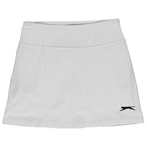 Slazenger Mädchen Court Tennis Skort Stretch Weiß 9-10 Jahre