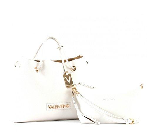 Mario Valentino - Corsair, Sacchetto Donna Mehrfarbig (Bianco/Sabbia)