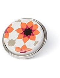 Noosa Chunk 126 Souk Tile orange/ white-ceramic