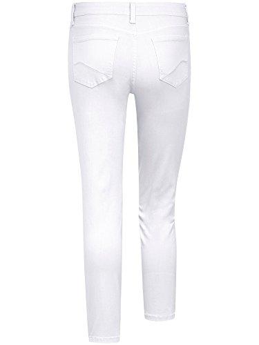 NYDJ, 7/8 Damen Jeans Hose, Original Slimming Fit,Stretchdenim,reinweiss lt. Hersteller bitte eine Nummer kleiner bestellen! [17628] reinweiss